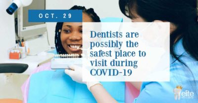 Dentists are safe